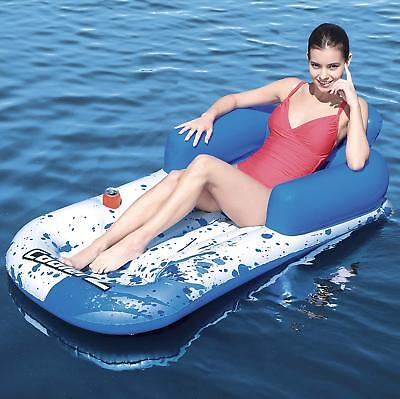 Bestway Inflatable CoolerZ Floating Lounger Pool Beach Lounge Lilo Float Mat