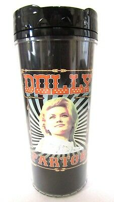 Dolly Parton Classic Pic Beverage Coffee Insulated Mug Tumbler New Official