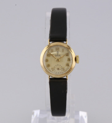 Vintage 1957 Tudor Ladies 9ct Yellow Gold Manual Watch