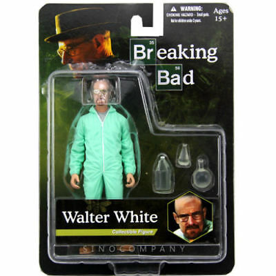 """New 6"""" Breaking Bad Walter White Hazmat Suit Action Figure collectible toy gift"""