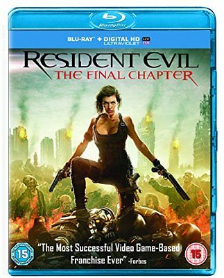 Resident Evil: The Final Chapter [Blu-ray] [2017] [Region Free] -  CD CQVG The