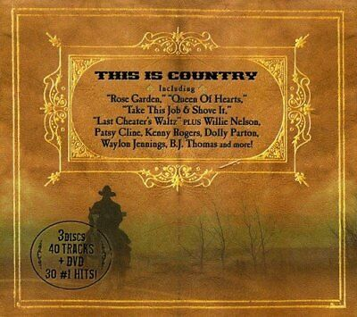 Various - This Is Country - Various CD 5YVG The Fast Free Shipping