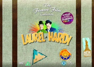 Laurel and Hardy - The Feature Film Collection [DVD] [1926] -  CD JYVG The Fast