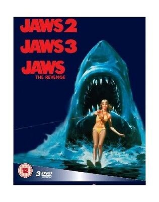 Jaws 2/Jaws 3/Jaws: The Revenge [Box Set] [DVD] -  CD JYVG The Fast Free
