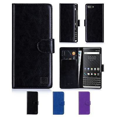 32nd Book Series – PU Leather Flip Wallet Case Cover For BlackBerry Key2