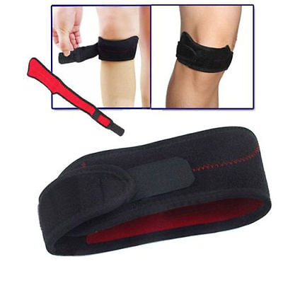 Adjustable Gym Sports Patella Tendon Knee Support Brace Strap Band Protector