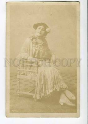 276702 La Belle OTERO Spanish Courtesan DANCER vintage PHOTO