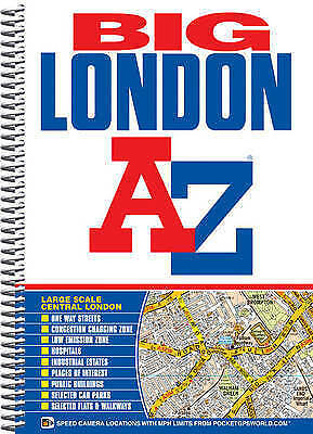 Big London Street Atlas (London Street Atlases) by Geographers' A-Z Map Company