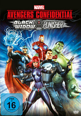 Avengers confidential: Black Widow & Punisher - Sony Pictures 0373507 - (DVD Vid