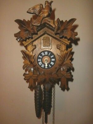 Vintage August Schwer Cuckoo Clock 1884288 1892176 for repair