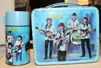 The Beatles 1965 Aladdin Lunchbox with Thermos