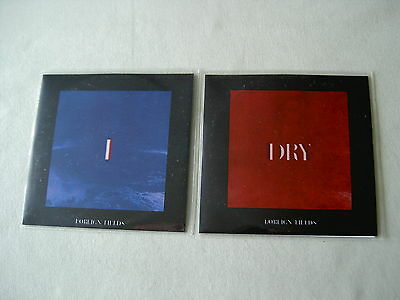 FOREIGN FIELDS job lot of 2 promo CDs Dry I