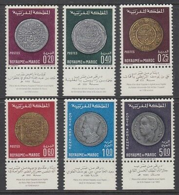 MOROCCO 1968/9 COINS SETS (x2) MINT (ID:849/D52723)