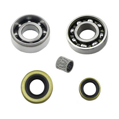 Crankshaft Crank Shaft Oil Seal Piston Pin Bearing For Stihl MS460 046 Chainsaw