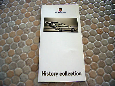 Porsche Official History Scale Models Series Sales Brochure 1998