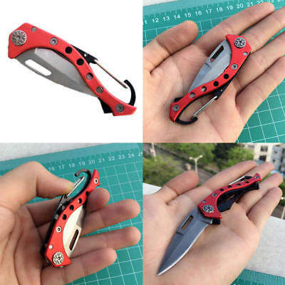 Pocket Knife Foldable Hunting camping Tactical Rescue Survival Outdoor Survival