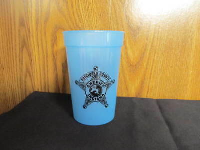 Indiana Sheriff Cup -Kosciusko County Sheriff's Office Plastic Cup-IN Police Cup