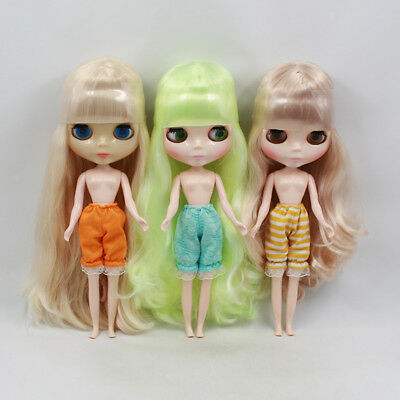 1/6 BJD Blythe Doll Clothes Multicolor Bloomers Pants Trouser Doll Accessory
