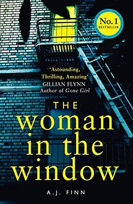 The Woman in the Window: The hottest new release thriller of 2018 and a No. 1.