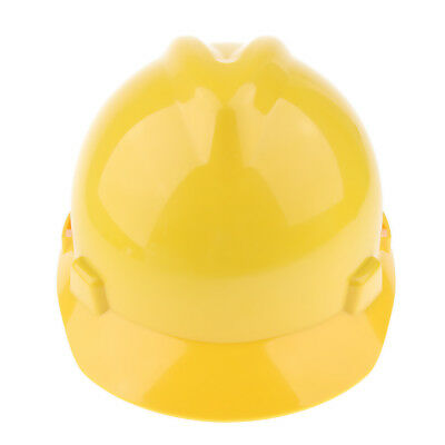 11'' Hard Hat Forestry Safety Helmet Work Protective Plastic Cap -Yellow