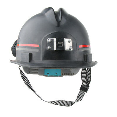 12'' Hard Hat Forestry Safety Helmet WorkPlace Protective Plastic Cap -Black
