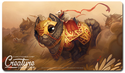 Imperious Purrfect StarCityGames Creature Collection Playmat MTG SCG