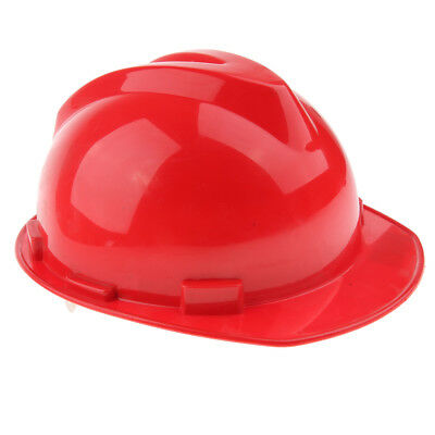 12-Inch Safety Helmet Working Cap Head Protective Hard Hat Bump Cap -Red
