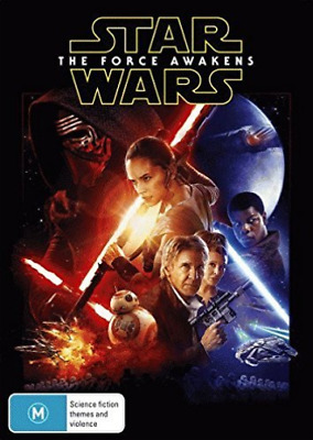 STAR WARS-The Force Awakens  DVD NEW