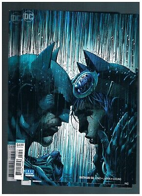 Dc Comics Rebirth  Batman #50 Jim Lee Variant Cover  2018 Nm  Hot! Catwoman