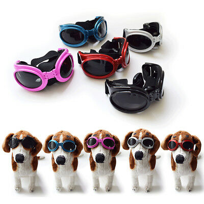Dog Sunglasses Eye UV Protection Windproof Goggles for Pets Doggie