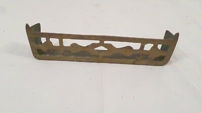 "6 1/8 x 1 5/8"" Vintage Brass Possibly Decorative Vent Cover"