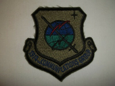 "1974Th Communications Group Military Patch 3"" X 3"""