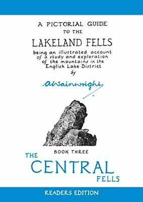 A Pictorial Guide to the Lakeland Fells, Book ... by Wainwright, Alfred Hardback