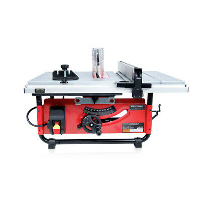 General International TS4003 10 in. Benchtop & Portable Table Saw New