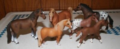 Lot of 6 Different Schleigh Horses D- 73527