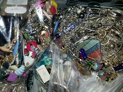Fashion Vintage Estate Jewelry Lot All Good No Junk Unsearched 12 pcs