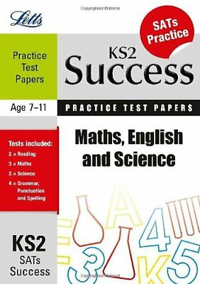 Maths, English and Science: Practice Test Papers (Letts Key Stage 2 Success)-Ja