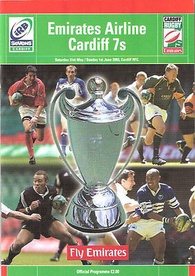 WORLD SEVENS SERIES RUGBY PROGRAMME CARDIFF 31st May & 1st June 2003