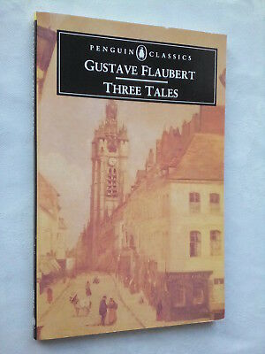 Gustave Flaubert.three Tales.simple Heart.penguin Classics 90S Unread,Old Stock