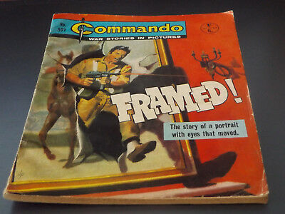 Commando War Comic Number 521!,1971 Issue,v Good For Age,47 Years Old,very Rare.