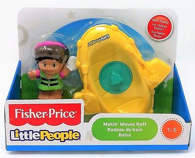 Fisher-Price DFN26 Little People Making Waves Raft - MIA and KAYAK Bath Toy