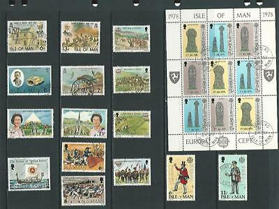 y5568 Isle of Man  / A Small Collection Early & Modern Used