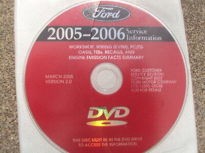 2005 ford mustang f-150 f-250 f-350 explorer service manual wiring
