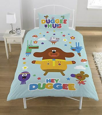 Hey Duggee Hello Squirels Single Panel Duvet Cover Bedding Set