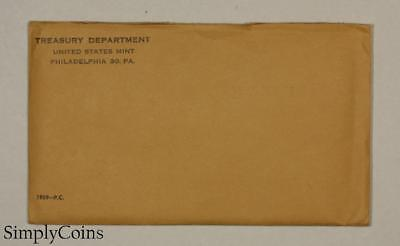 1959 Proof Set ~ Original Envelope With COA ~ US Mint Silver Coin Lot SKU-1701