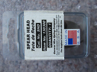 General Wire Spring Spear Head Drain Sewer Cleaning #SHD #130300
