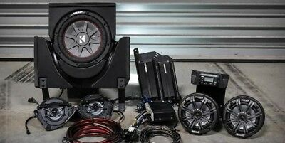 SSV Works Plug N Play 5 Kicker Speaker Kit For Can-Am X3 / Max X3-5K