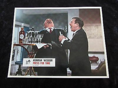 PRESS FOR TIME lobby card #2 NORMAN WISDOM