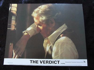 The Verdict lobby cards - Paul Newman, Charlotte Rampling, James Mason