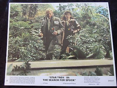Star Trek III The Search For Spock original lobby card # 5 - 8 x 10 inches